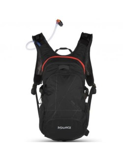 Source Fusible Hydration Pack 3 + 9 L - Noir/Rouge