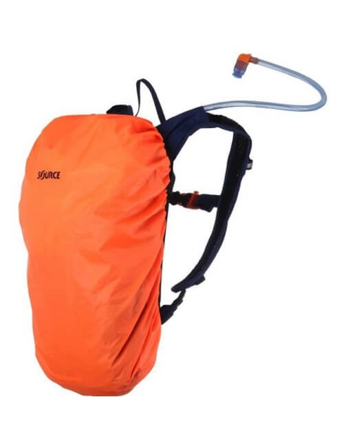 Source hydration pack Fuse 3 + 9 liter rugzak - Donker Blauw - Groen