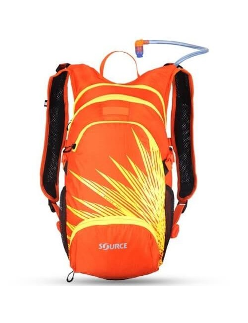 Source Fusible Hydration Pack 3 + 9 L - Orange/Jaune