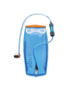 Source waterfilter Filter kit met Widepac en Mini Sawyer 2l - Blauw