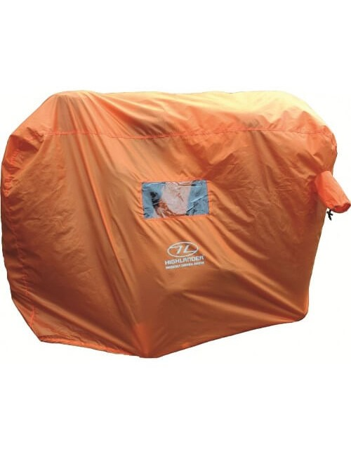 Highlander noodtent Emergency Survival Shelter 4-5 persoons - Oranje
