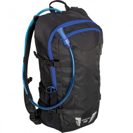 Highlander Falcon Hydration Pack 18 litre - Black/Blue