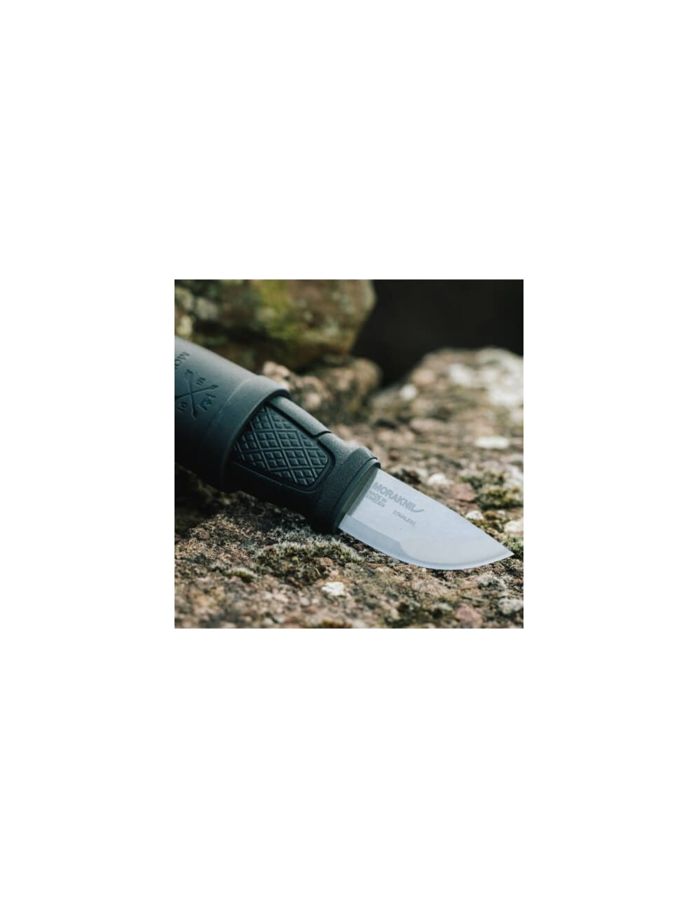 Mora Eldris Neck Knife - Schwarz
