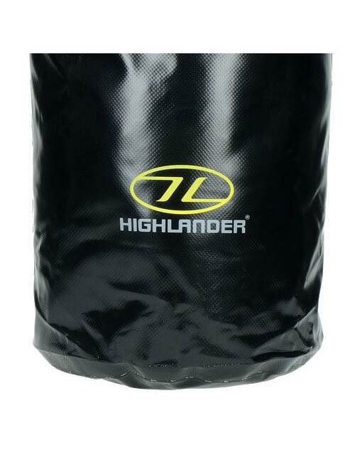 Highlander Tri Laminate PVC Dry Bag (16 liter) - Black