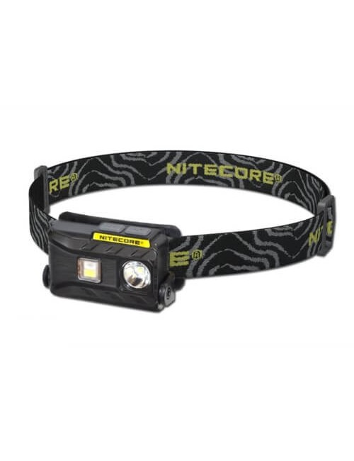 NiteCore headlamp rechargeable NU25 360 lumens - Black