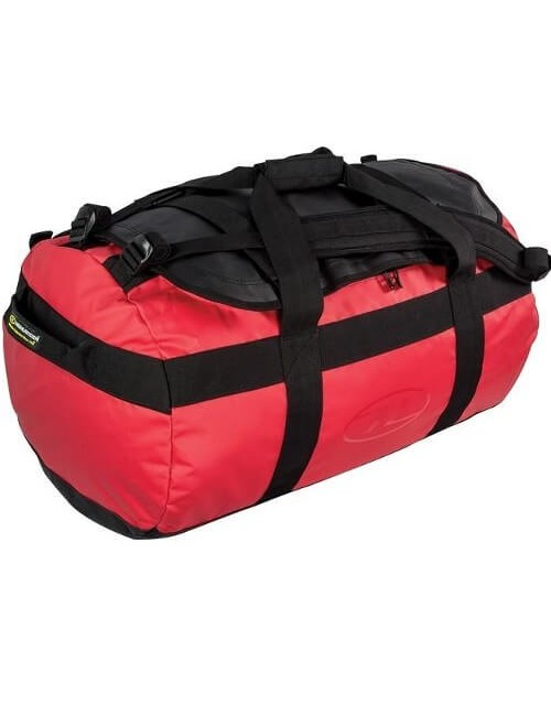 Highlander Lomond Planen Duffle Bag 65 - Rot
