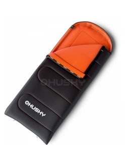 Husky sleeping bag Quilted Gizmo - Grey/Orange