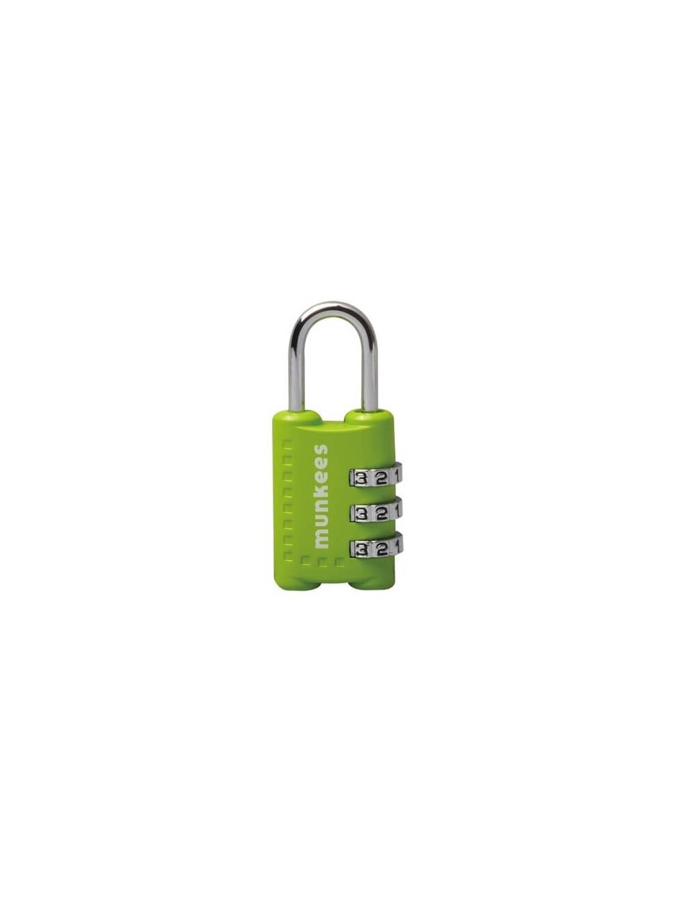 Munkees kofferslot met cijfercombinatie Combination Lock 1 - Oranje