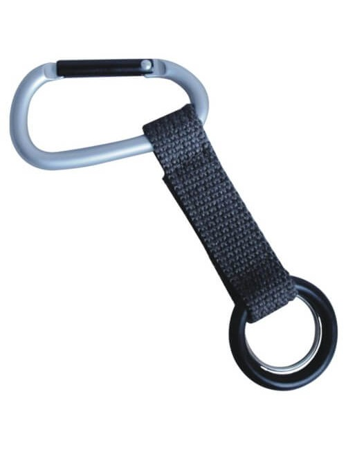 Munkees Carabiner with Bottle Carrier