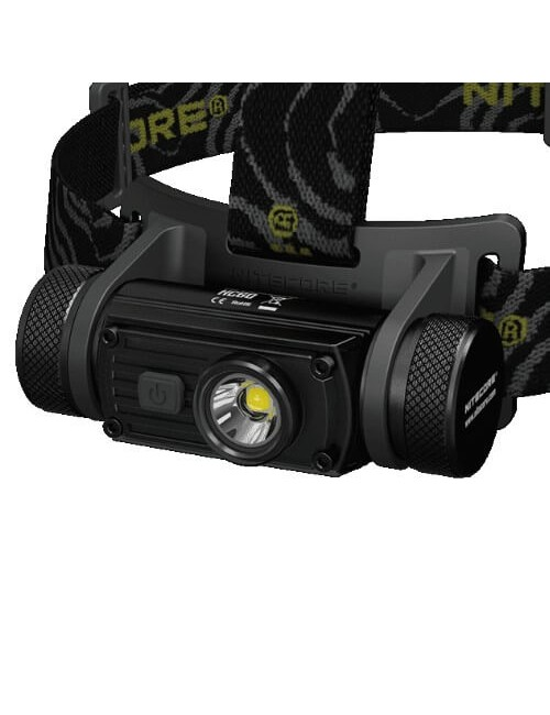 NiteCore headlamp HC60NW 1000 lumens CREE XM-L2 U2 LED - Black