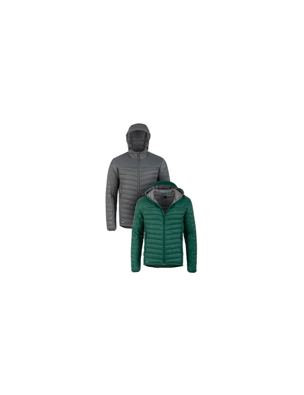Highlander jas Lewis Insulated Tecloft  voor heren capuchon - Groen