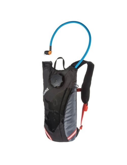 Source hydration pack Durabag Pro 3 litre - Grey-Black-Fiesta