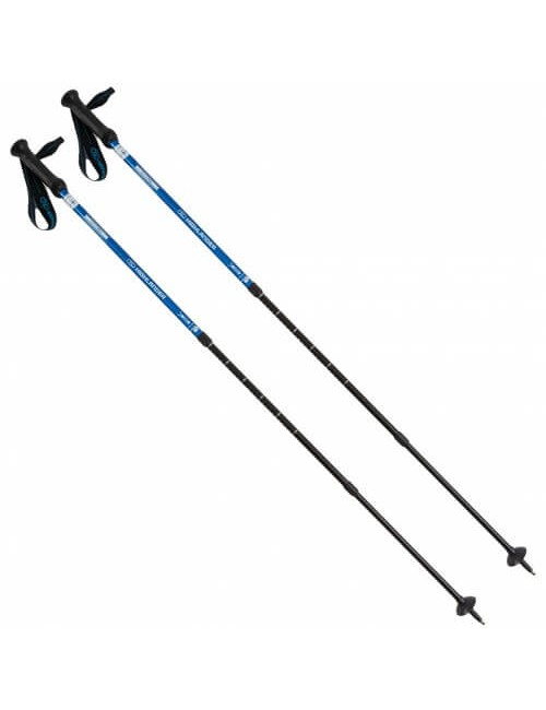 Highlander walking poles (set) Isle of Mull - Twist Lock - Blue