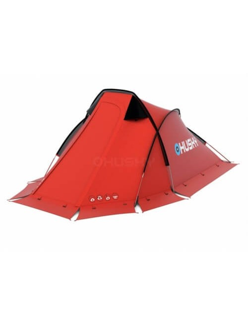 Husky Flame 1 Extreme - lightweight tent - 1 person - Red