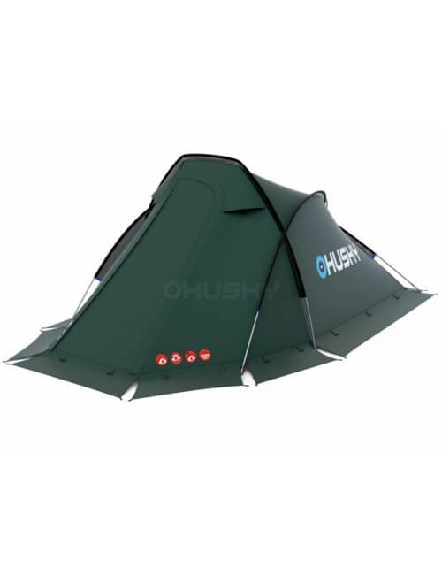 Husky Flame 2 Extreme - lightweight tent - 2 person - Green