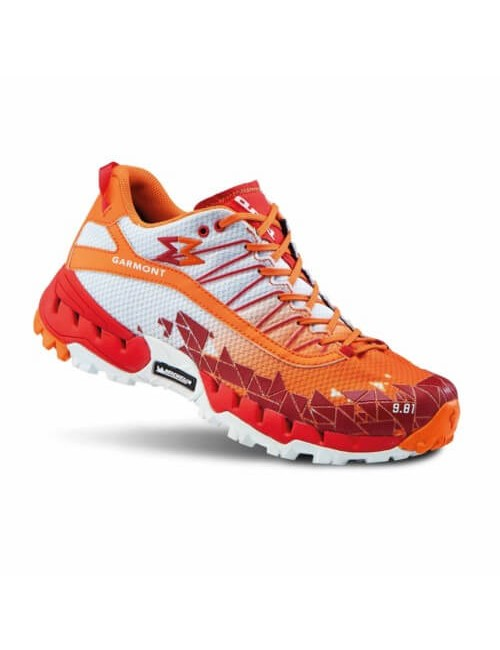 Garmont running shoes 9.81 Air, G S-BEST - White - and- Orange -