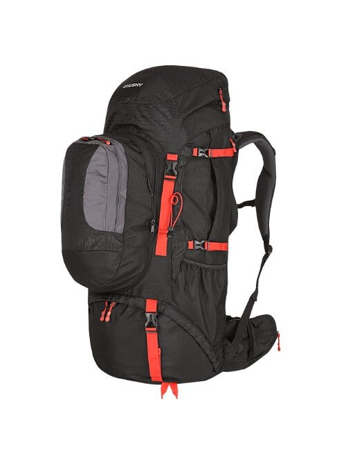 Husky backpack Expedition Samont backpack 60 + 10 litre - Black, Red