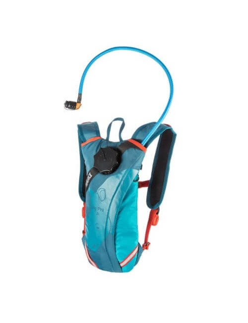 Source hydration pack Durabag Pro as a 2 liter, Coral, Blue, Blue