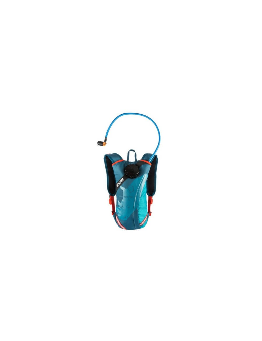 Source hydration pack Durabag Pro 3 liter - Coral Blue - Blauw