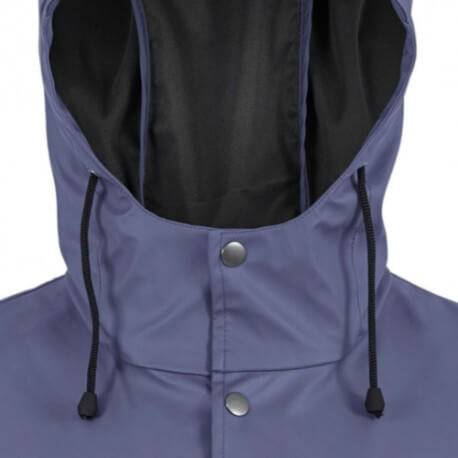 Highlander halflange regenjas Lighthouse Jacket - Navy Blauw