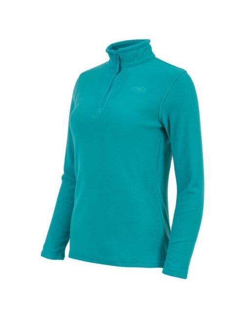 Highlander t-shirt for women can Make a Fleece Seagreen pocket with zip-Blue