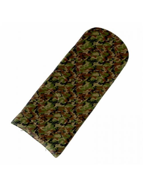 The Husky sleeping bag Quilted Gizmo Photo From -5°C to 220 x 90 cm) - Army Green