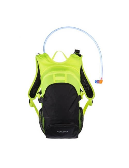 Source hydration pack, a & r manager, 3 + 9-liter-backpack - FluorGeel-Black