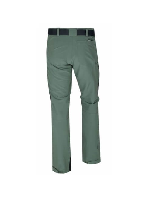 Husky outdoor trousers, Keiry M, light weight wandelbroek with lace - Green