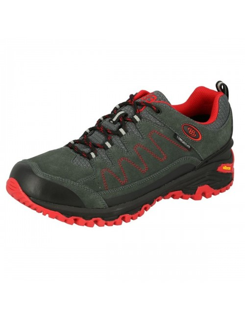 Brütting, hiking shoes, Mount Nansen - Grey - and- Red -