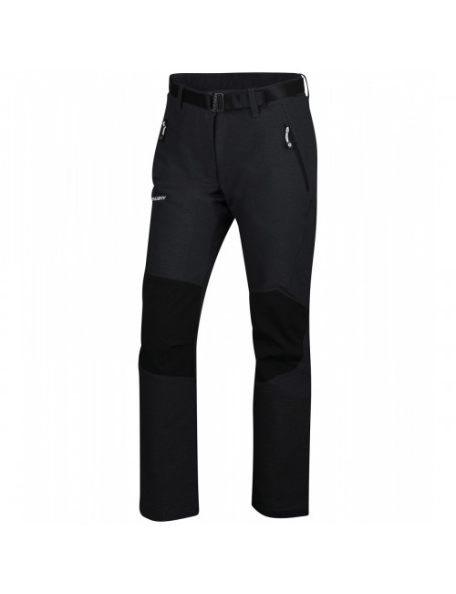 Husky outdoor pants Class L - softshell wandelbroek with stretch -Black