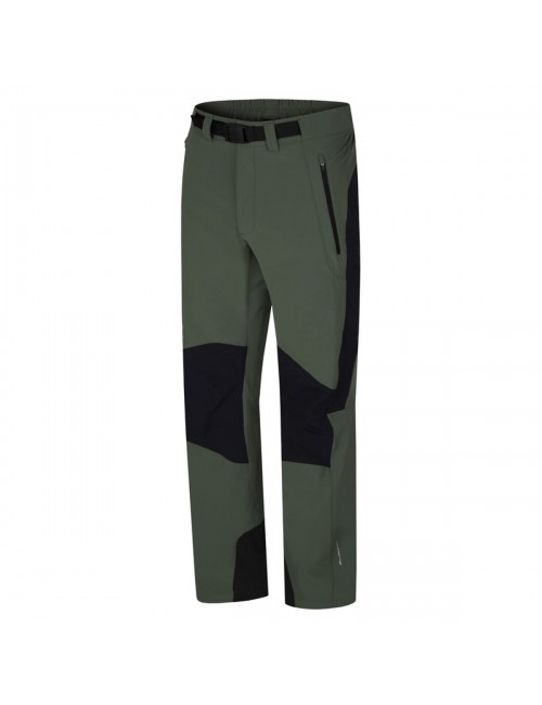 Hannah outdoor-wandel broek Garwyn - softshell stretch Heren - Groen