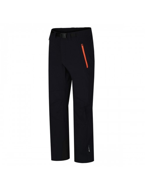 Hannah outdoor hiking pants Garwyn - softshell stretch Men's -Black
