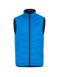 Highlander insulated vest is reversible-Reversible Vest men's Blue