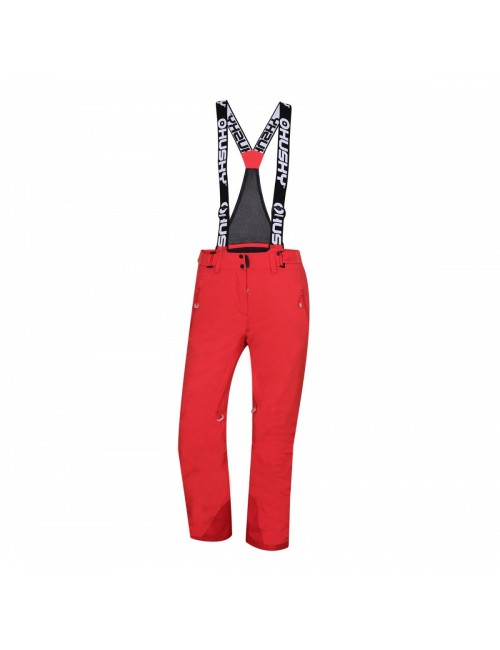 Husky ski pants for Women and Mithy L is Stretched to 20,000-membrane - Red -