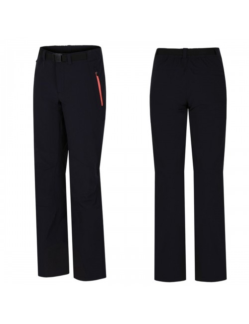 Hannah outdoor hiking pants Garwynet - softshell stretch Ladies - Black