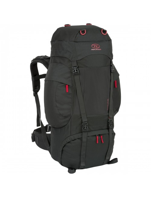 Highlander rucksack back pack Rambler New New New New New 88 litre - Black & Red