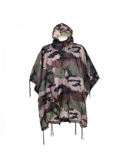 101 Inc Poncho Recon Frans - Camouflage - in draagtas
