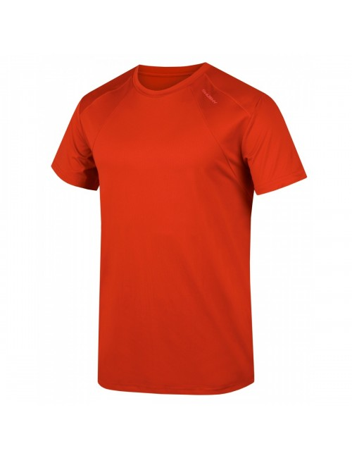 Husky t-shirt Telly M men's functional Cooldry - Dark Red