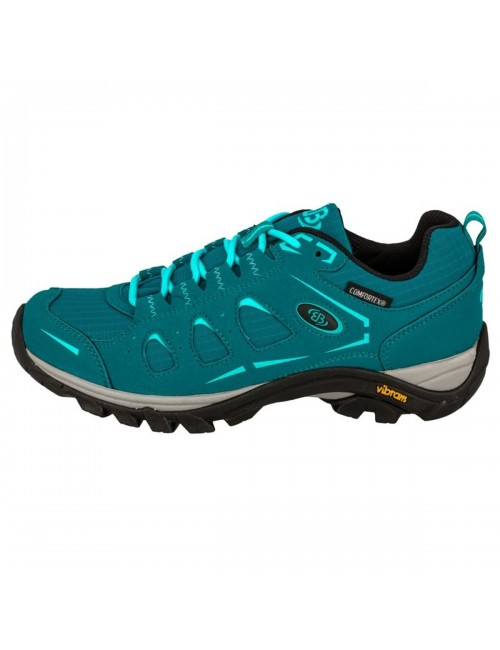 Brütting, hiking shoes, Mount Frakes Ladies Petrol Blue