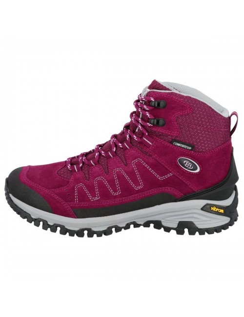 Brütting, hiking shoes, Mount Nansen-High - Pink-Black - Pink -