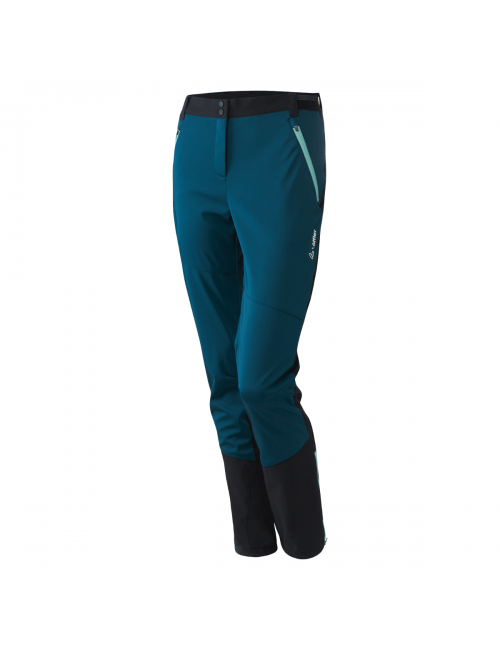 Loeffler outdoorbroek W Touring Pants Pace WS Light Teal - Groen Blauw