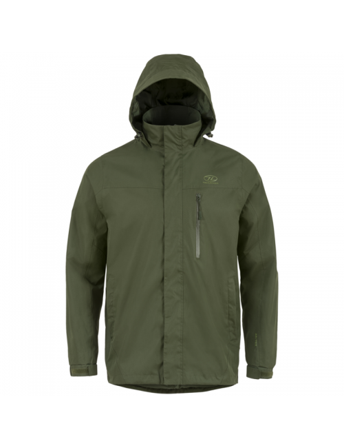 Highlander outdoor jacket, Kerrera Jacket men's - rain-jacket - Green -