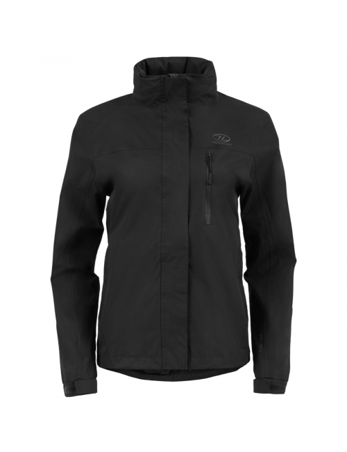 Highlander outdoor jacket, Kerrera Jacket-women's - rain-jacket - Black -