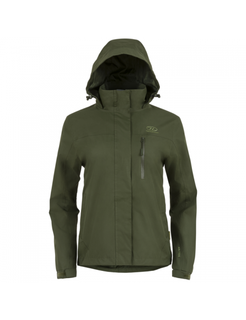 Highlander outdoor jacket, Kerrera Jacket-women's - rain jacket - Green