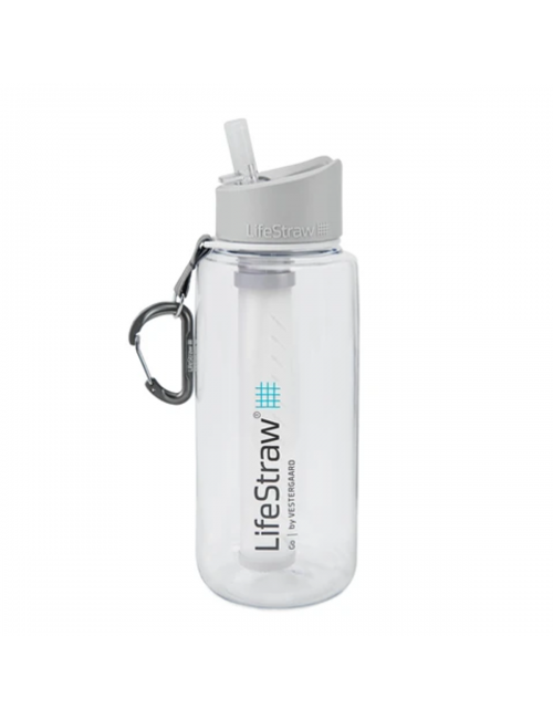 LifeStraw waterfilterfles Go 1 liter - Transparant