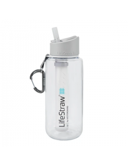 LifeStraw waterfilterfles Go, 1 litre - Clear