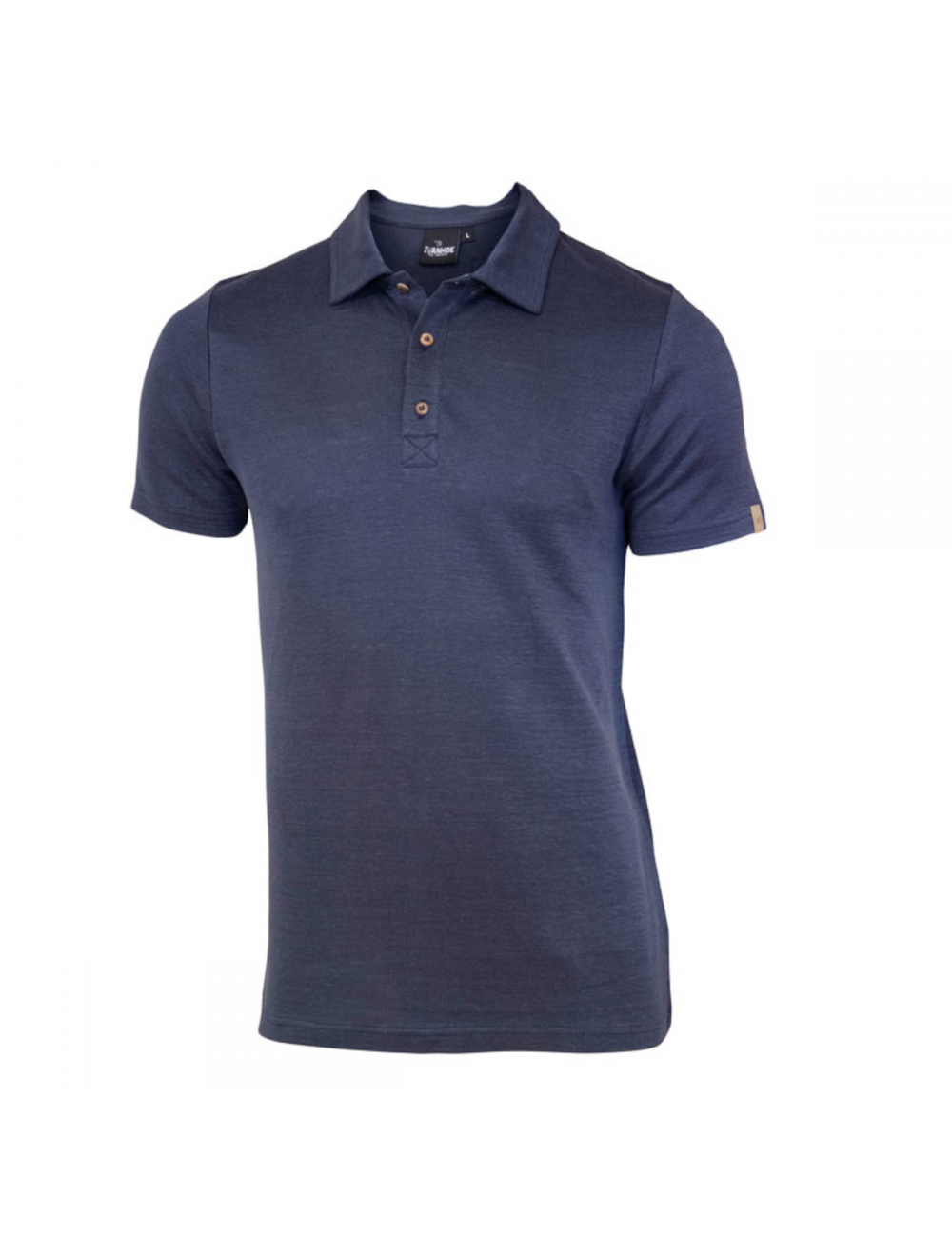 They polo YOU a car, Steelblue, for men's, 100% linen, and Blue