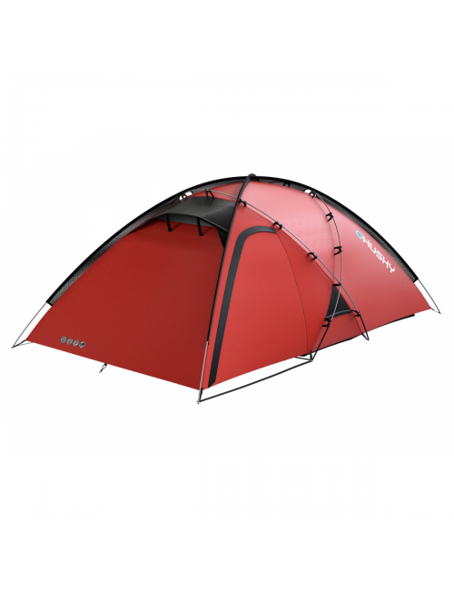 A Husky is Extreme Felen 3-4 - lightweight tent for 3-4 person, Red