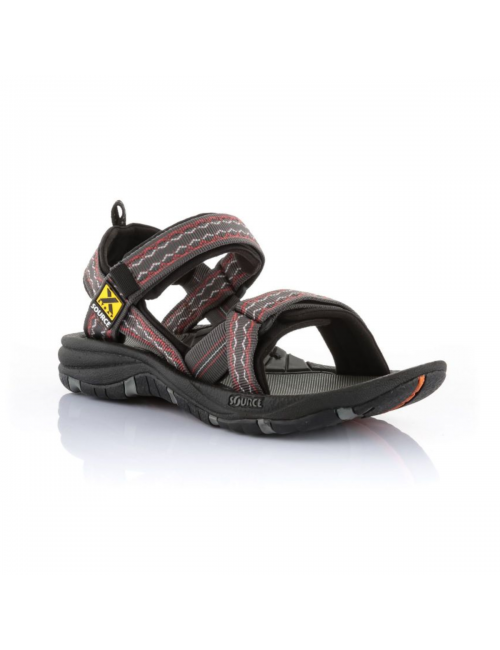 Source sandals for men Gobi Oriental Brown Red-outdoor-Brown