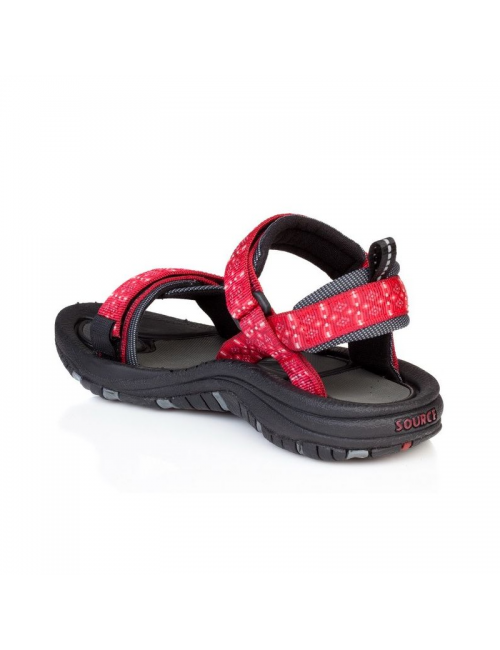 Source sandals for women Gobi Tribal Red-outdoor-red